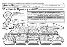 french unit 5 food year 5 u0026 6 at the market the fruit and