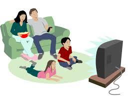 no tv clipart for children