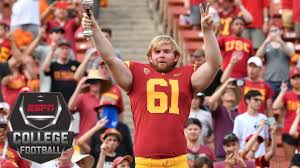 What Is Blind Sight Usc U0027s Long Snapper Who Is Blind Talks About His Inspirational