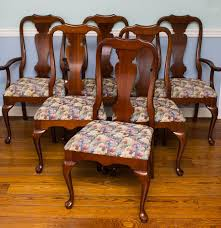 queen anne dining room chairs cherry barclaydouglas
