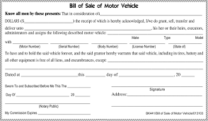 download tennessee motor vehicle bill of sale form for free tidyform