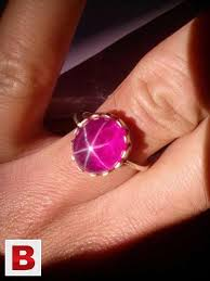 star ruby rings images Star yaqoot gem stone burma star ruby burma with silver ring mardan jpg