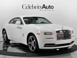 2016 Rolls Royce Wraith White White Starlight For Sale In Sarasota