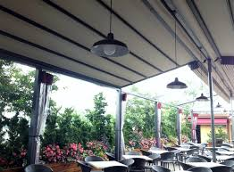 Pergola Awning Retractable by Gennius Retractable Pergola Awning For Restaurant Penthouse Dining