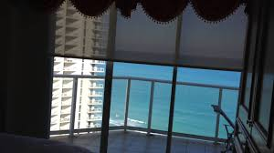 gorgeous motorized roller shades sunny isles beach miami youtube