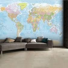 world map wallpaper mural wallpaper mural at allposters com