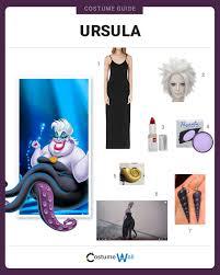 ursula costume dress like ursula costume and guides