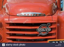 red volvo truck old volvo 465 truck stock photo royalty free image 4226868 alamy