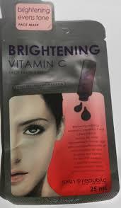 Isaac Mizrahi Sheets Skin Republic Brightening Vitamin C Face Mask Sheet Review