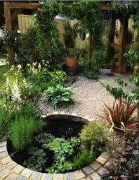 How To Make A Patio Pond для больших участков беседка сад Pinterest Gardens Pond