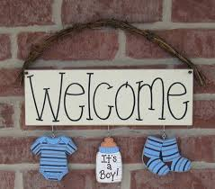 baby boy welcome home decorations baby home decor tions nuncing bby bby wll nd welcome home baby boy