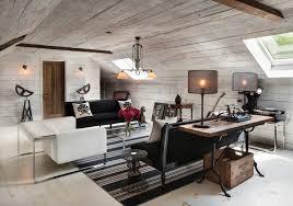 Attic Living Room Family Room  TV Room Ideas - Family room office