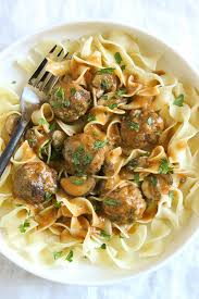 turkey and mushroom gravy recipe turkey meatball stroganoff instant pot slow cooker or stove top