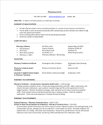 resume example for freshers pharmacy