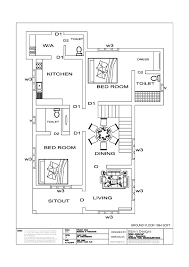 free house plan 1511 sq ft 3 bedroom simple home design