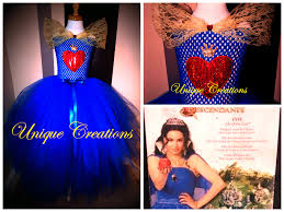 evie halloween costume party city evie from descendants inspired coronation tutu dress