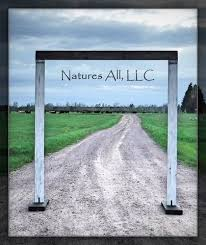 wedding backdrop arch rustic wedding arches natures all llc