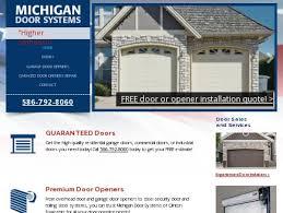 Overhead Door Michigan Michigan Doors Systems Overhead Doors Commercial Doors Clinton