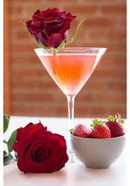 martini rosso glass our ten favorite floral cocktail recipes proflowers blog