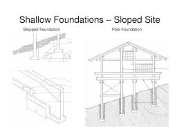 Pier Foundation House Plans by Sloped Site Foundations Stepped And Pole Soils And Foundations