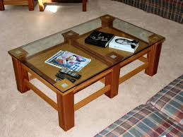 3 table family room project using pocket hole joinery