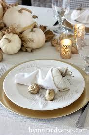 thanksgiving table cornucopia napkin fold falling for fall