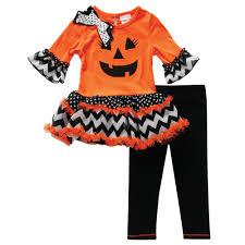 youngland infant u0026 toddler u0027s halloween tunic u0026 leggings