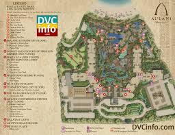 Disney Resorts Map Aulani Resort Map 1l Dvcinfo Com