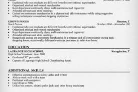 Sample Fast Food Resume by Cashier Sample Resume For Skills Reentrycorps