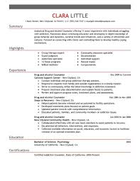 c counselor resume best and counselor resume exle livecareer