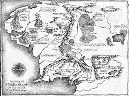 Map Middle Earth Middle Earth Map By Filiandkili1824 On Deviantart