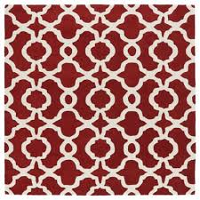 buy red square area rugs from bed bath u0026 beyond