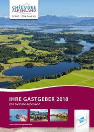 esszimmer hã ngele gastgeberverzeichnis chiemsee alpenland 2018 by chiemsee alpenland