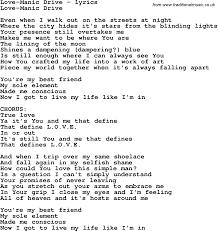 simple man lyrics printable version love song lyrics for love manic drive