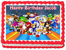 sonic the hedgehog cake topper sonic the hedgehog cake topper ebay