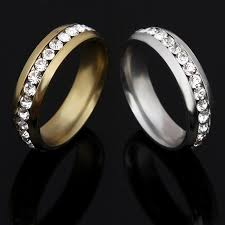 aliexpress buy new arrival hight quality white gold new arrival white gold color aaa ring wedding rings for