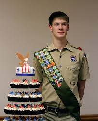 eagle scout cake topper andrew s eagle scout court of honor the couture cakery