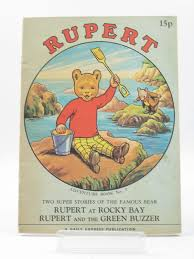 rupert bear u0027s adventures number written tourtel