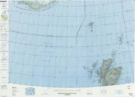 Shetland Islands Map Operational Navigation Charts Perry Castañeda Map Collection