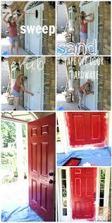 Spray Painting Interior Doors Front Doors Painting Interior Front Door Black Behr Paint Front