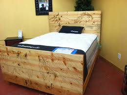 Box Bed Designs In Plywood Hand Made Custom Wood Burned Bed Frame By Custom Glass Etching