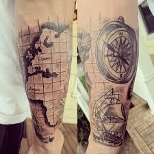 Travel tattoo album on