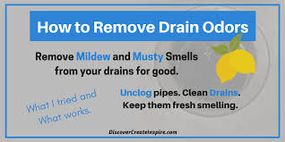 Musty Smell In Bathroom Sink How To Remove Drain Odors From The Kitchen And Bathroom Sink
