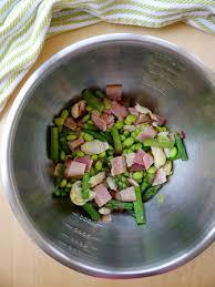 bacon y spring panzanella salad my bacon wrapped life