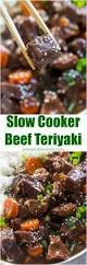 slow cooker beef teriyaki sweet and savory meals