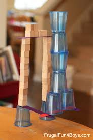 With Challenge 4 Engineering Challenges For Cups Craft Sticks And Cubes