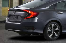 2016 honda civic is truly all new gets 1 5 liter turbo four