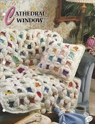cathedral window annie u0027s crochet quilt u0026 afghan