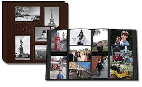 photo album book 4x6 12 x 12 album 240 4 x 6 inch photo pockets embossed sewn