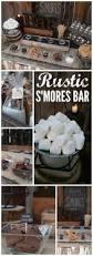 s u0027mores bar wedding